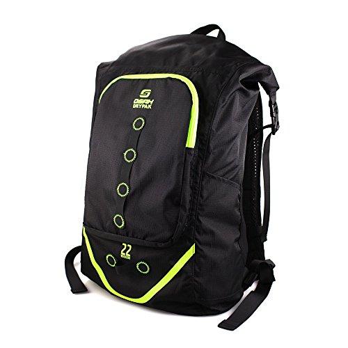 【OSAH】防水バックパック デイバック リュック 22L ザック 軽量 防水 アウトドア キャンプ ハイキング 旅行 通勤 自転車 男女兼用(UCB02-A0122)
