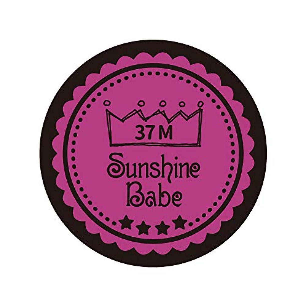 ワーディアンケース同一性境界Sunshine Babe カラージェル 37M フューシャピンク 4g UV/LED対応