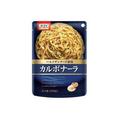 日本製粉 オーマイ パルメザンチーズ使用 カルボナーラ 2人前(240g)