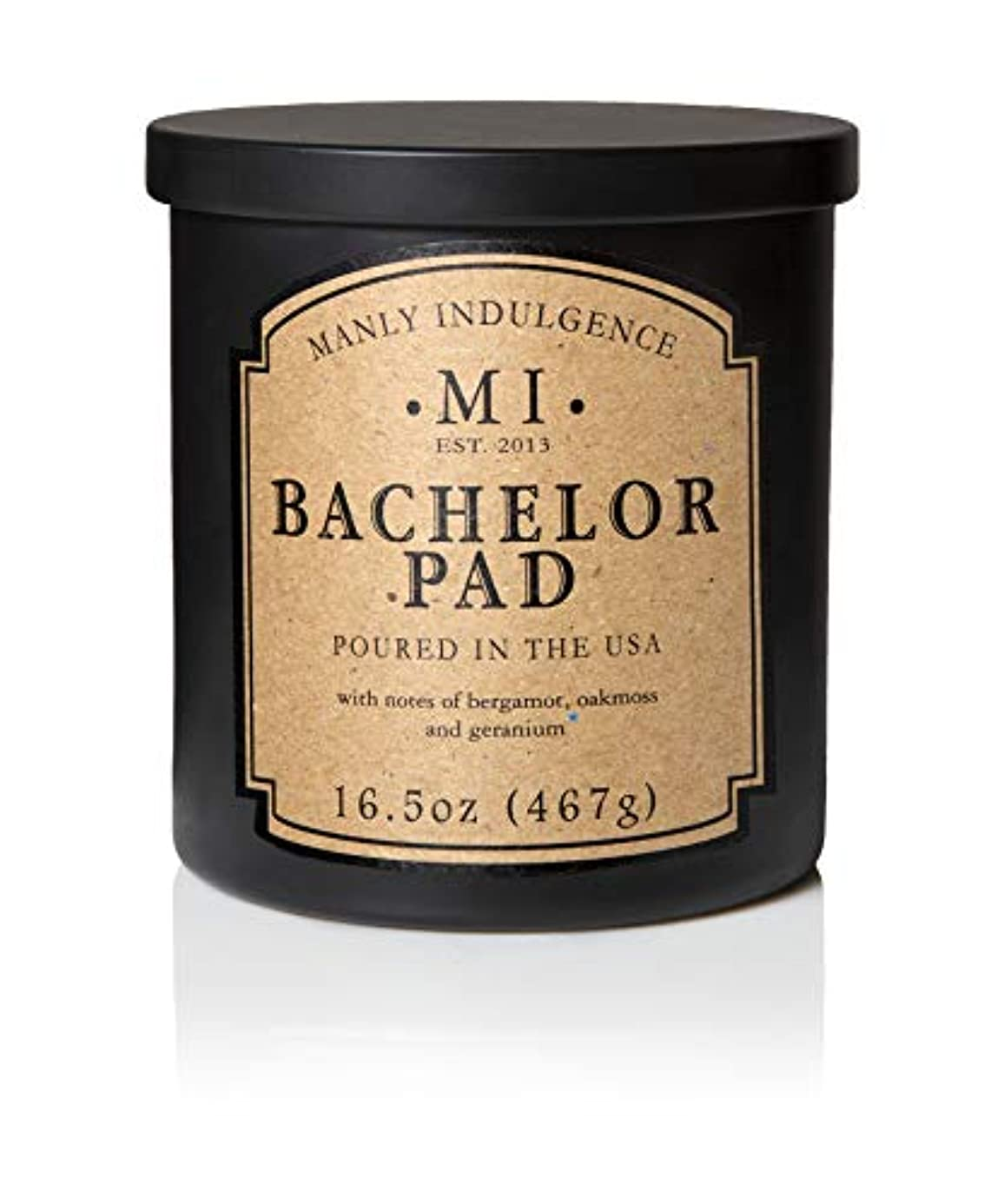 発生するパブ句Manly Indulgence Bachelor Pad Scented Candle - 1 Wick - 16.5 Oz. by Decoware