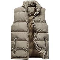 Howme-Men Thermal Windbreaker Sleeveless Full Zip Quilted Vest