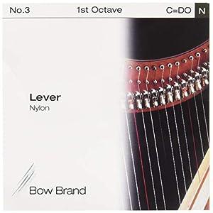 Salvi Harps レバーハープ 交換用バラ弦 ナイロン No.03 C 1st