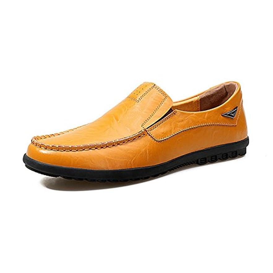 ゼロワームエレクトロニックメンズ ローファー スリッポン 革靴 ビジネスシューズ ドライビングシューズ 軽量 ウォーキング かっこいい 夏 柔らかい 滑り止め デッキシューズ おしゃれ 黒 快適 痛くない ローカット 通勤 24.0cm-27.0cm