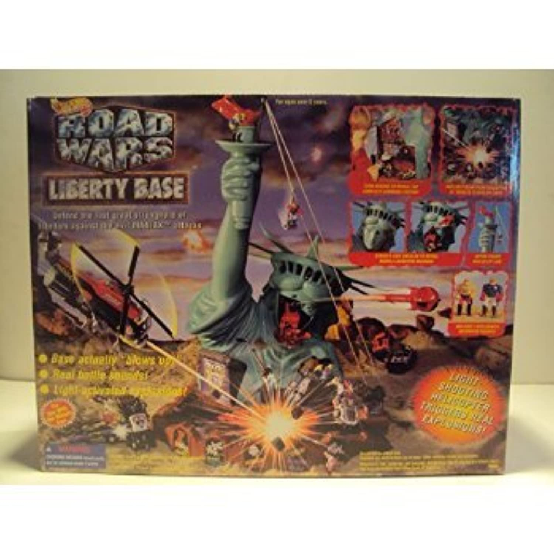 Hot Wheels Road Wars Liberty Base Electronic Playset おもちゃ [並行輸入品]