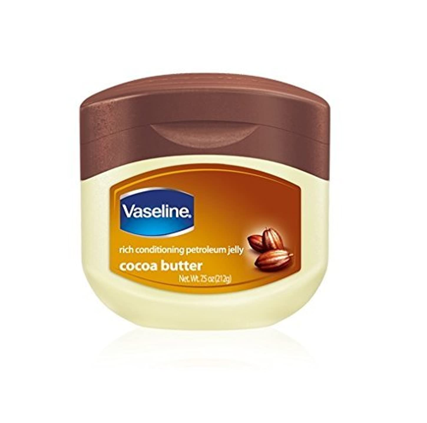 真面目な摂動第四Vaseline Jelly Cocoa Butter for_dry_skin 220 ml [並行輸入品]