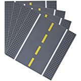 Strictly Briks / ストリクトリーブリックス 公路底板25.4x 25.4cm ビルディングブリック 底板他的主要品牌的产品和100% 兼容道路、城市和冲调车库底板。 , 灰色