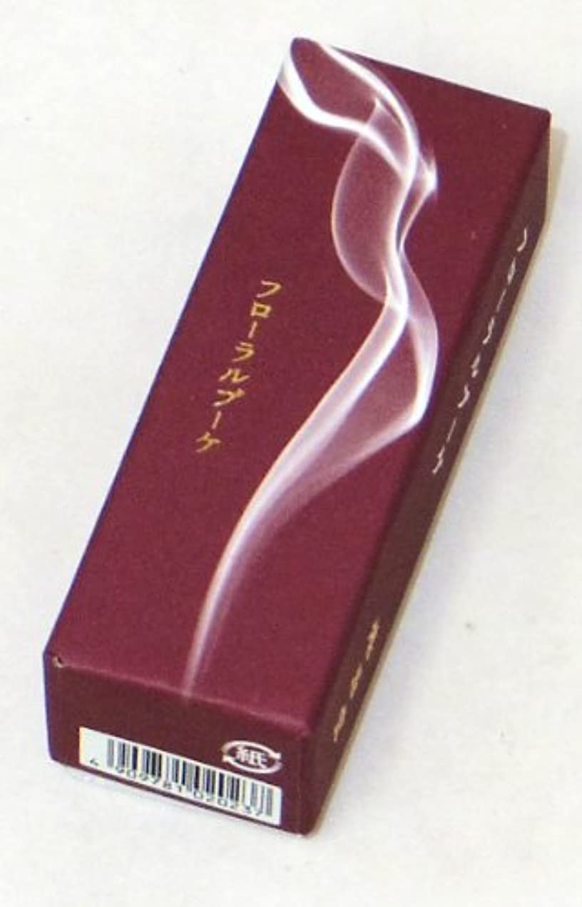 同封するありふれた作動する鳩居堂のお香 香水の香り フローラルブーケ 20本入 6cm