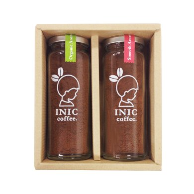 INIC coffee Smooth & Organic Aroma Bottle set