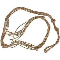 ノーブランド品  麻ロープ ナイロン ロープ 植物ホルダー ハンガー スタンド 吊りスタンド 100CM 6色選べる - #2