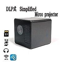 [TPOS] ポータブル マイクロプロジェクター 超小型プロジェクター ミニプロジェクター モバイルプロジェクター USB WiFi 接続OK 日本語説明書付き