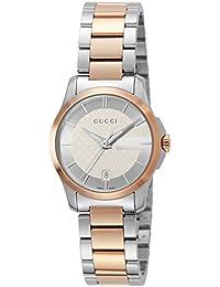 [グッチ]GUCCI 腕時計 Gタイムレス シルバー文字盤 YA126528 レディース 【並行輸入品】