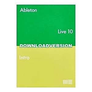 Ableton Live10 Intro 【メール納品 代引き不可】 エイブルトン