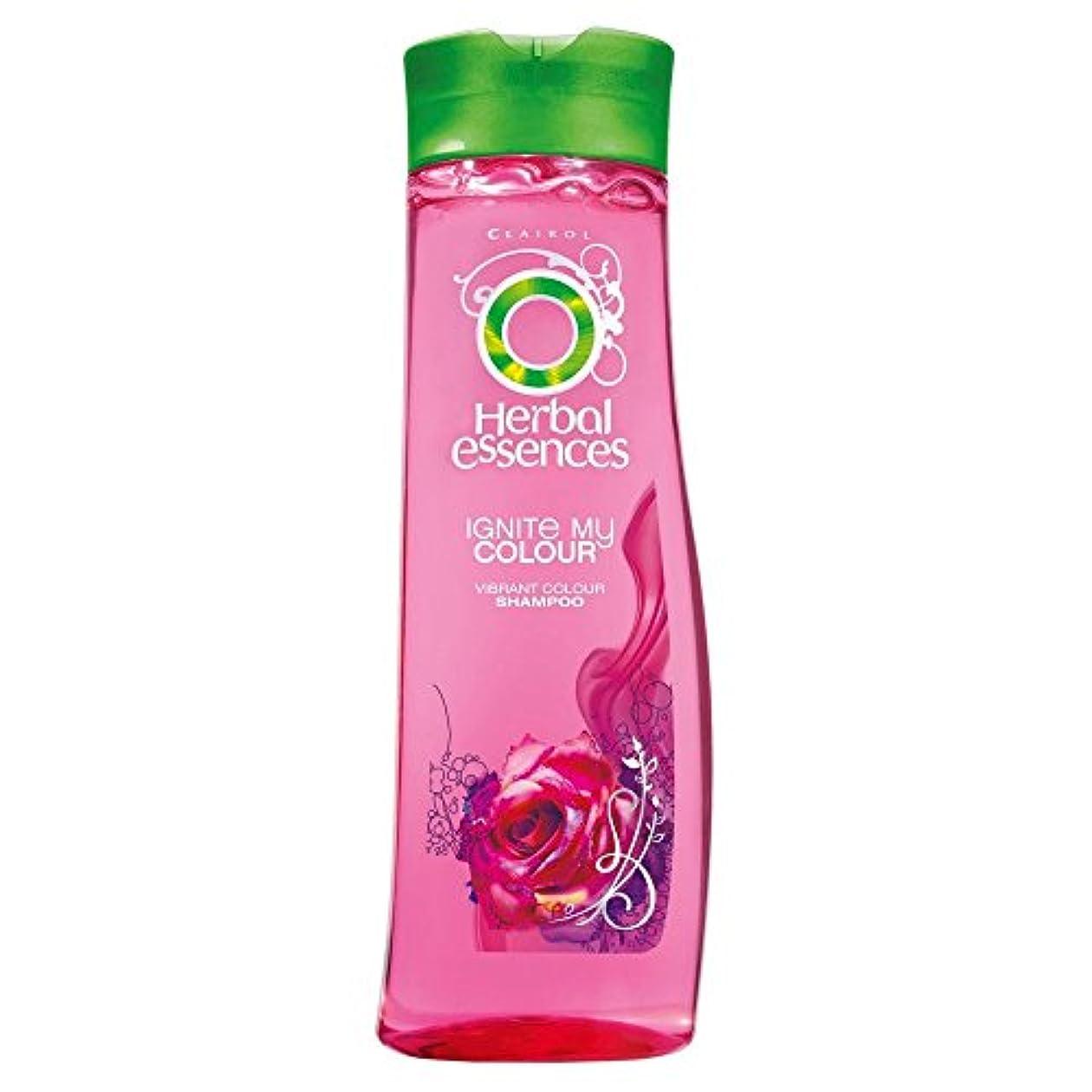 シャッフルごちそう公式Herbal Essences Ignite My Colour Acai Berry & Silk Extracts Shampoo (400ml) ハーバルエッセンスは、私のカラーアサイベリーとシルクエキスシャンプー...
