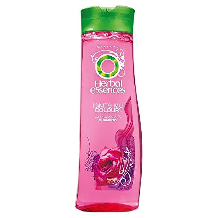 ラウンジ請求可能布Herbal Essences Ignite My Colour Acai Berry & Silk Extracts Shampoo (400ml) ハーバルエッセンスは、私のカラーアサイベリーとシルクエキスシャンプー...