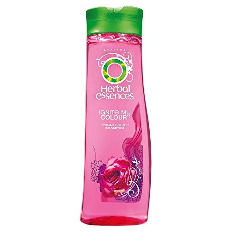 シェード呼びかけるブリードHerbal Essences Ignite My Colour Acai Berry & Silk Extracts Shampoo (400ml) ハーバルエッセンスは、私のカラーアサイベリーとシルクエキスシャンプー...