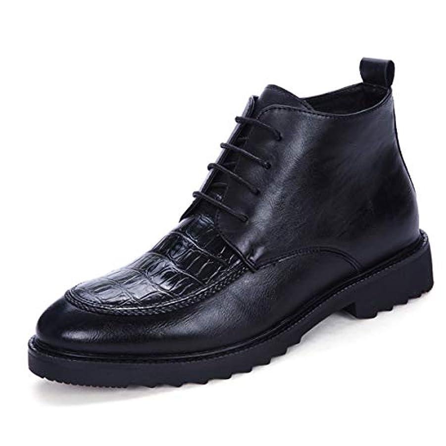 集中的な発揮する独特の[Poly] メンズシューズ レザーシューズ ドレスシューズ レースアップ ビジネスシューズ カジュアル靴 紳士靴 ハイヒール ストレートチップ G-A22112