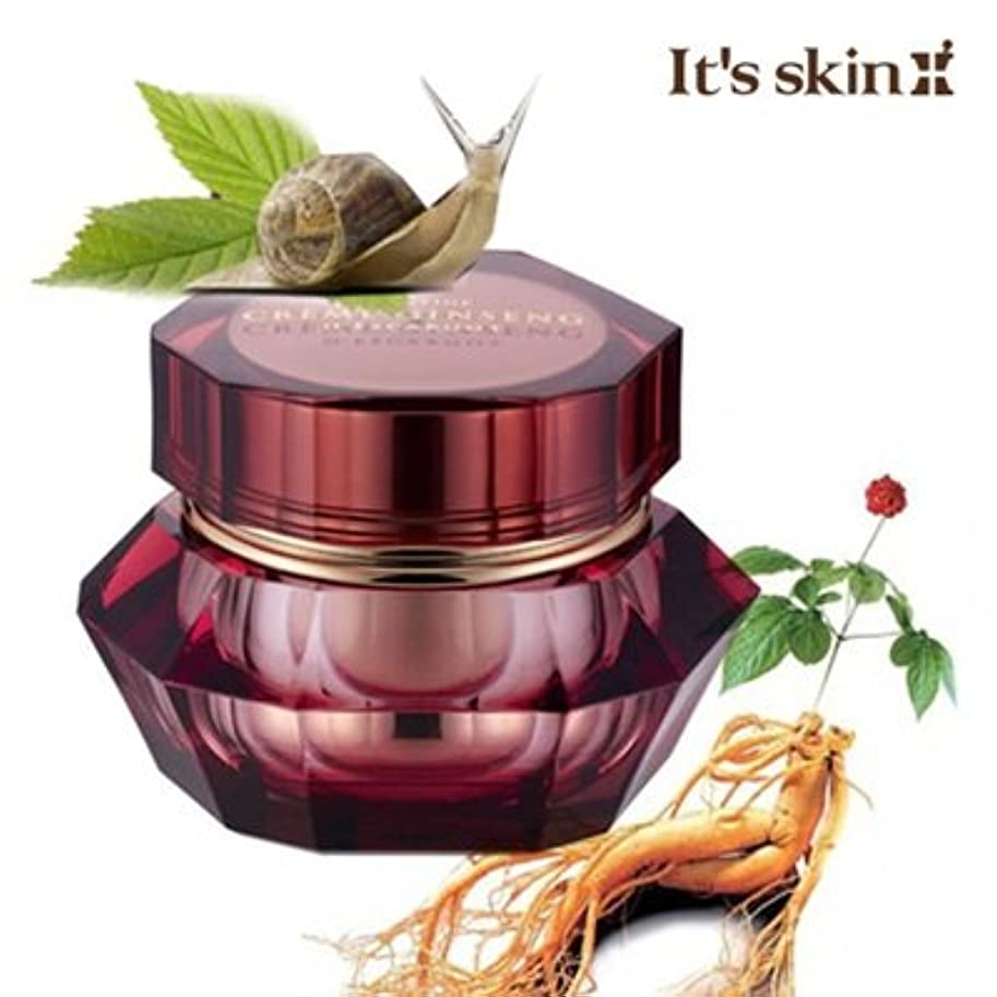 インスタント狐ポールIts skin/イッツスキン PRESTIGE Crème Ginseng Descargotプレステージ クリーム ジンセン デスカルゴ 1本 Honest Skin 海外直送品