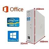 【Microsoft Office 2016搭載】【Win 10搭載】超小型富士通B532/G/第三世代Core i5-3470T 2.9GHz/メモリー4GB/HDD:320GB/HDMI/新品外付けDVDスーパーマルチ/無線LAN搭載/無線キーボードとマウス/省スペース中古デスクトップパソコン/ (HDD:320GB)