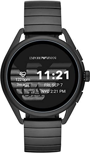 [エンポリオアルマーニ] 腕時計 タッチスクリーンスマートウォッチ ジェネレーション5 ART5020 正規輸入品 ブラック