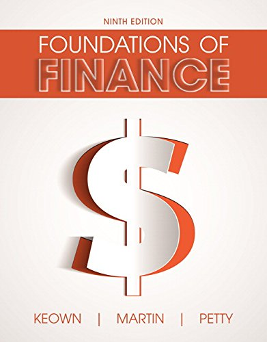 Download Foundations of Finance (9th Edition) (Pearson Series in Finance) 0134083288