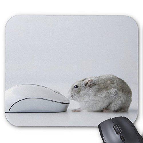 Recaso(レカソ)ハムスターおよびコンピュータマウス マウスパッド 敷き おしゃれ オフィス用 滑り止め 水洗い可能...
