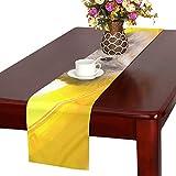 GGSXD テーブルランナー 親しい ハムスター クロス 食卓カバー 麻綿製 欧米 おしゃれ 16 Inch X 72 Inch (40cm X 182cm) キッチン ダイニング ホーム デコレーション モダン リビング 洗える