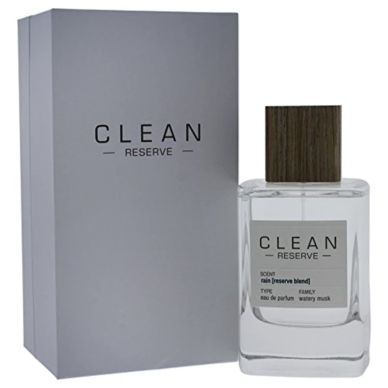 支配的火山のねじれ◆【CLEAN】Unisex香水◆クリーン リザーブ レイン オードパルファムEDP 100ml◆