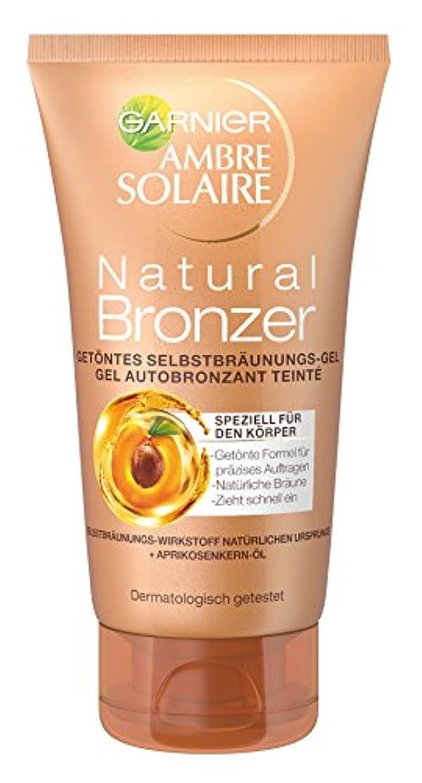 守るスティーブンソンはっきりしないGarnier Ambre Solaire Natural Bronzer Getöntes Selbstbräunungs-Gel, für eine natürliche Bräune, präzises Auftragen...