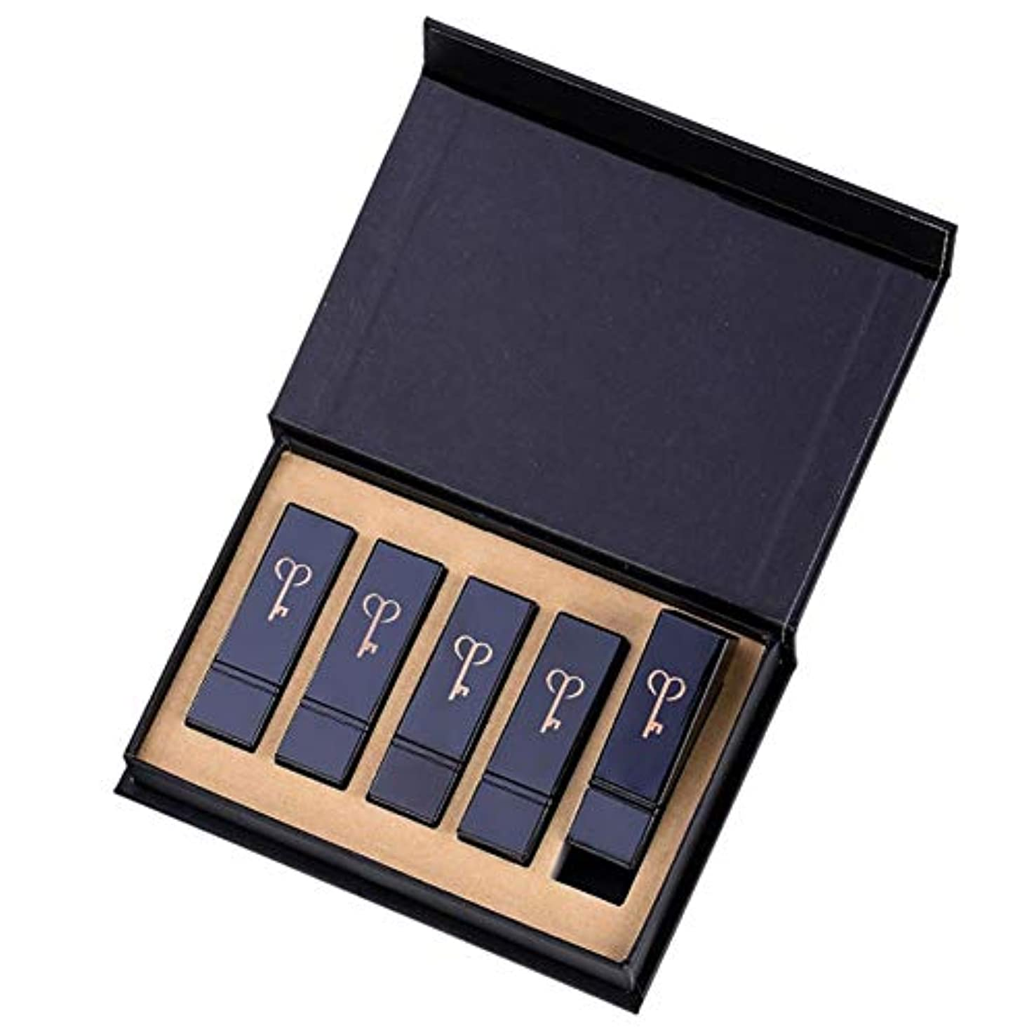 富豪ディレクター重大リップスティックセット、長期的な、容易ではない変色に、潤い潤い防水