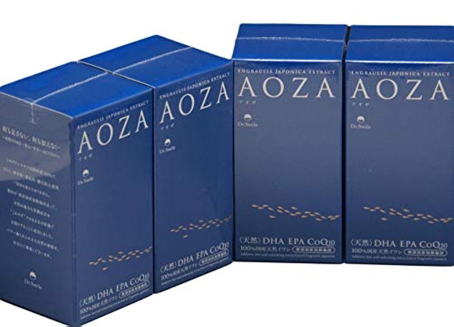贅沢な気をつけて容器ドクタースマイル AOZA アオザ 300粒×4個セット