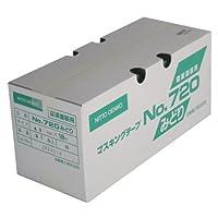 日東電工 No.720みどり 建築用テープ 40ミリ×18M 30P