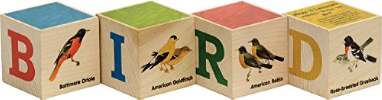 ピーターソンの鳥ブロック、4ピースセット – Made in USA