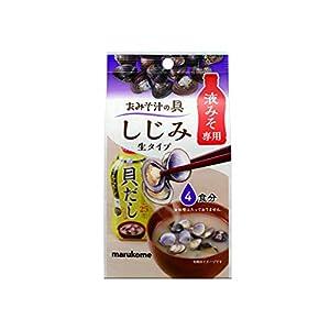 マルコメ おみそ汁の具 しじみ 4食×12個