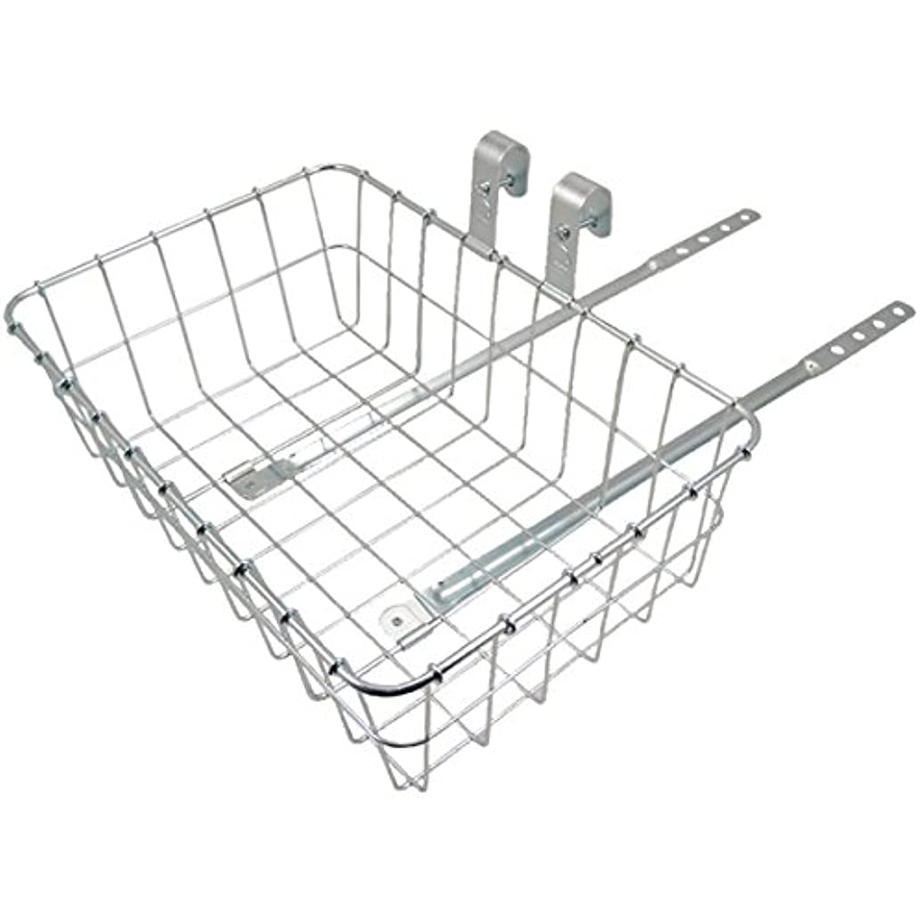 私たち自身興奮ありがたいWald 137 Front Bicycle Basket (15 x 10 x 4.75, Silver)