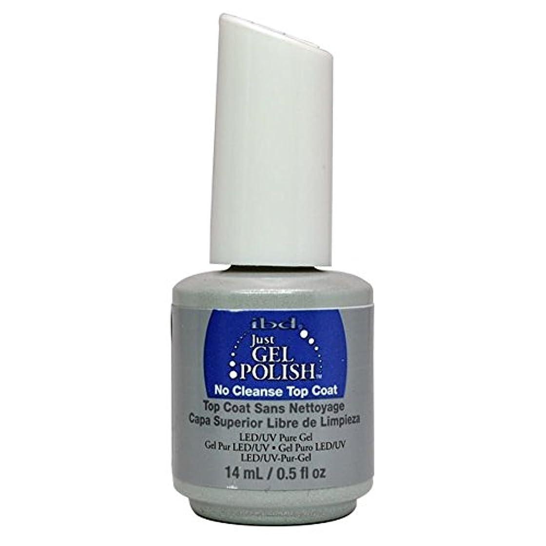 答えぞっとするような食品ibd Just Gel Nail Polish - No Cleanse Top Coat - 14ml / 0.5oz