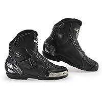 Road Biking Shoes, Unisex Adults Racing Car Cycling Shoes Breathable Anti-Slip Waterproof Sneakers Mountain Walking Running Shoe,Black,43