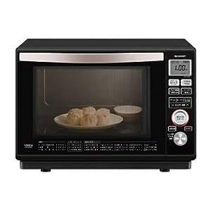 シャープ 加熱水蒸気オーブンレンジ 23L 1段調理 ブラック RE-SS8C-B