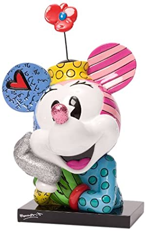 Enesco Disney by Britto Minnie Bust Figurine , 7.25-inch
