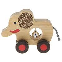 P Prettyia ベビー 幼児おもちゃ ハンドベル ラトル 知育玩具 音楽教育玩具 全5色 - #4