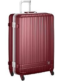 [ハンズプラス] スーツケース h+;ライトシリーズ フレーム;RD 92L   92L 75cm 5.2kg 2430000388071