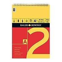 Daler Rowney - スパイラルブロック、A2フォーマット、シリーズA