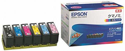 EPSON 純正インクカートリッジ KUI-6CL 6色セット