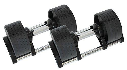 東急スポーツオアシス 可変式ダンベル 20kg 2個セット (20kg×2) 6段階(2 4 8 12 16 20)kg FLEXBELL (フレックスベル)