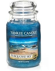 YankeeキャンドルターコイズSky Large Jar Candle、新鮮な香り