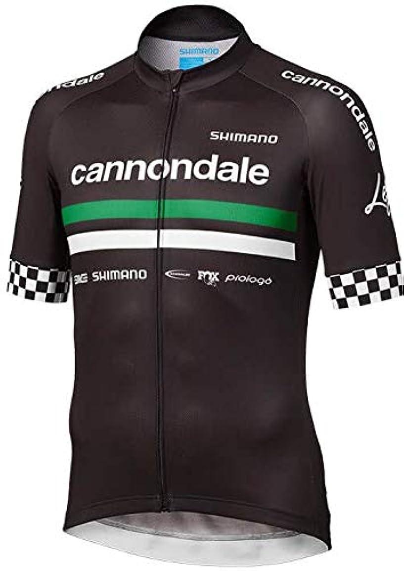 生産性反響するハード自転車ウェア 2019 Cannondale Factory Racing 半袖ジャージ Sサイズ