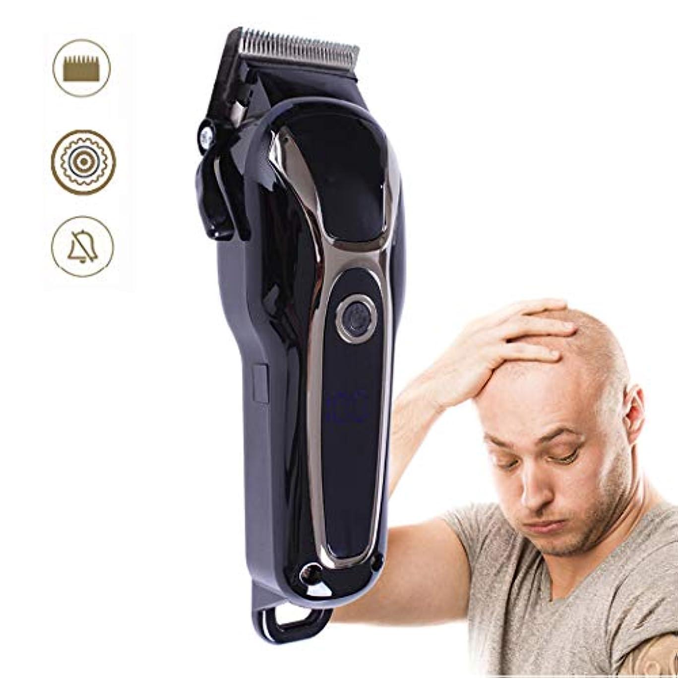 ながら加速度却下する男性プロフェッショナル向けのバリカン、セラミック防水トリマー静かな散髪家族の安全クリッパーバリカン