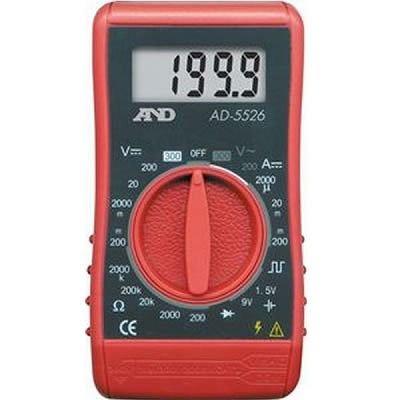 エー・アンド・デイ(A&D) AD-5526 デジタルマルチメーター 汎用コンパクト形