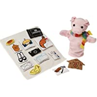 If You Give A Pig a Pancake Puppet & Props Set by ConstructivePlaythings [並行輸入品]