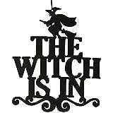 C-Princess ハロウィン 飾り付け 装飾 飾り ガーランド デコレーション インテリア お化け 巫女 魔女 吊り下げ 写真背景 パーティー ブラック