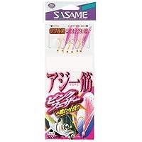 ささめ針(SASAME) S-624 アジ一筋ピンクフェザー 10-3.